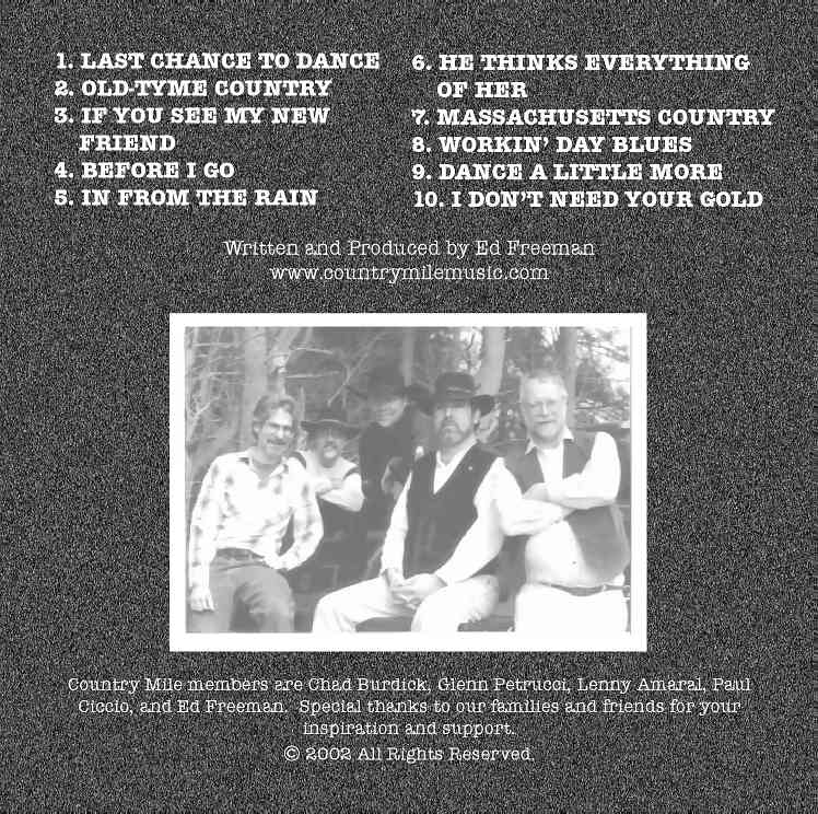 Country Mile Song Lyrics